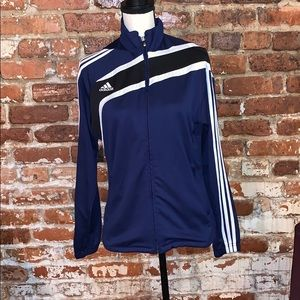 Adidas Track Jacket with 3stripes on sleeves USM
